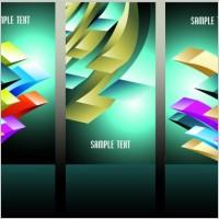 Link toBeautiful threedimensional box background 02 vector