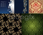 Link toBeautiful traditional patterns vector