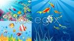 Link toBeautiful underwater world vector