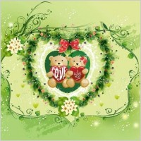 Link toBeautiful valentine's day vector graphic