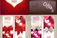 Link toBeautiful valentine banner vector