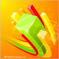 Link toBeautiful vector background 5 cube