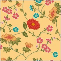 Link toBeautiful vector flower patern