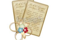 Link toBeautiful vintage bookmark vector