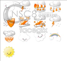 Link toBeautiful weather forecast icon