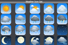 Link toBeautiful weather icon vector