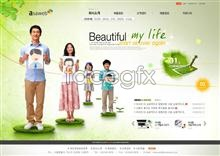 Link toBeautiful website psd