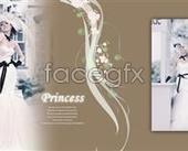 Link toBeautiful wedding album design templates psd