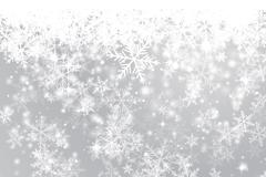 Link toBeautiful winter snowflake background vector