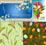 Link toBeautifully decorated with flowers vector
