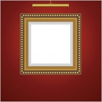 Link toBeautifully ornate pattern picture frame 02 vector