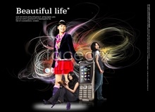 Link toBeauty ads stunning background hierarchies psd