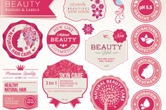 Link toBeauty care tag vector