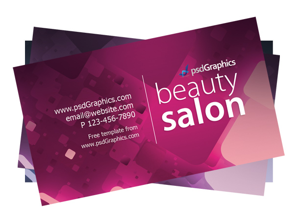 Link toBeauty salon business card template psd