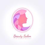 Link toBeauty salon logo vector