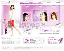 Link toBeauty shopping site psd