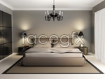 Bedroom bed psd