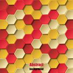Beehive bump texture backgrounds vector