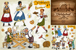 Link toBeer festival in illustrator vector