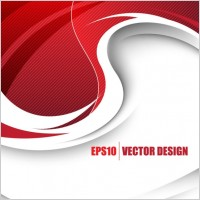 Link toBehind the red background vector