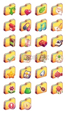 Link toBeige computer icon for a folder