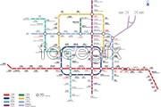 Link toBeijing metro transport vector