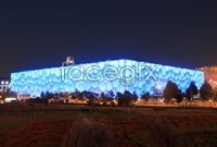 Beijing water cube hd picture