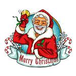 Link toBell cartoon santa claus vector