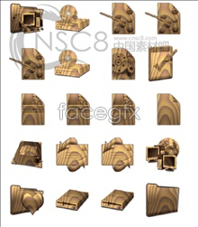 Link toBest gold wooden icons