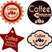 Link toBest vintage coffee labels vector 03