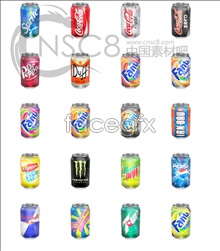 Link toBeverage cans icons