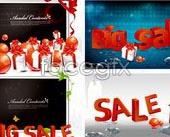 Link toBig sale theme vector illustration