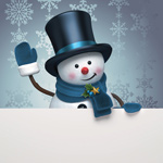 Link toBillboards with snowman psd