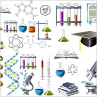 Link toBiochemistry theme icon vector