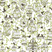 Link toBirdcages and birds seamless pattern vector 01 free