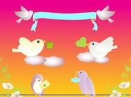 Link toBirds love vector free