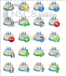 Link toBirthday cake computer icons