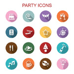 Link toBirthday party icon vector