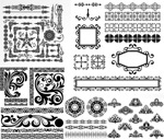 Link toBlack and white border 4 vector