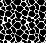 Link toBlack and white cow pattern background vector