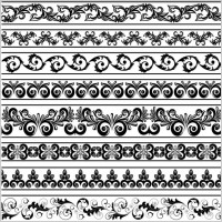 Link toBlack and white patterns 03 vector