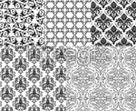 Link toBlack and white style pattern vector