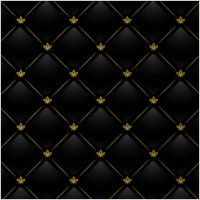 Link toBlack checkered tile the background vector