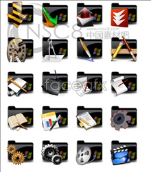 Link toBlack folder icons