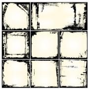 Link toBlack grunge frames design vector 02 free