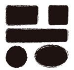 Link toBlack ink banner vector