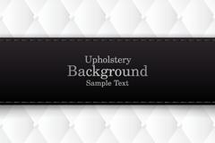 Link toBlack label white background vector