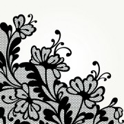 Link toBlack lace backgrounds vector 03