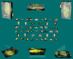 Link toBlack magic galaxy folder icon
