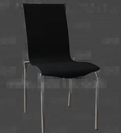 Link toBlack metal feet chairs 3d model